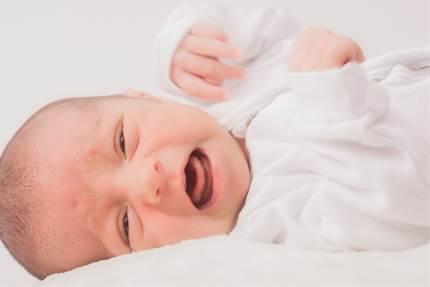赤ちゃんの大泣き