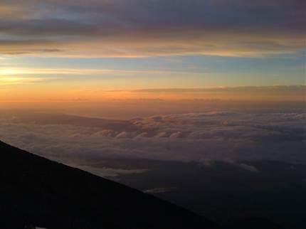 富士山からの景色