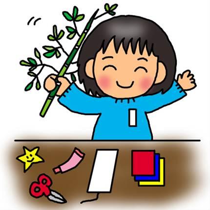 子供と一緒に楽しもう!七夕飾りを簡単手作りで可愛く作ろう!
