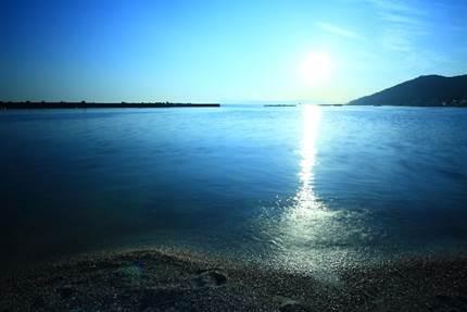 お盆の海水浴