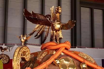 天神祭のギャル神輿