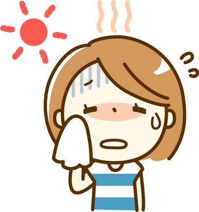熱中症の半分は一人暮らしのお年寄り!症状や段階の対策!