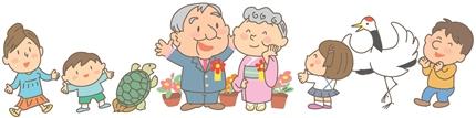 家族で祝う金婚式!お祝いの定番や相場金額とは?