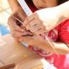 3歳の子供とできる七夕飾り!折り紙一枚でお星さま?!切り紙作り!